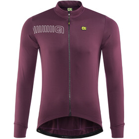 Alé Cycling Solid Color Block - Maillot manches longues Homme - violet